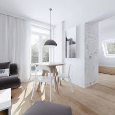 Small Apartment Dining Room Ideas Beautiful Attic Apartment With Clever Design Features