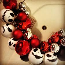 diy jack skellington from the nightmare before christmas wreath i