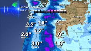 Newport Oregon Map by Newport Snow Forecast Bruce Sussman Portland Weather