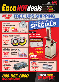 enco hotdeals july 2013 catalog