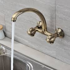 interior brass kitchen faucets with sprayer and single handle