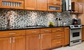 ceramic tile countertops kitchen cabinets door knobs lighting