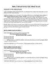 essay writing outline pdf