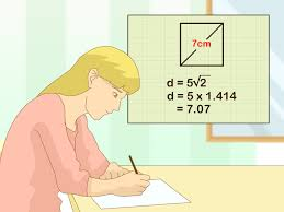 Square Feet Calc by 3 Ways To Calculate A Diagonal Of A Square Wikihow