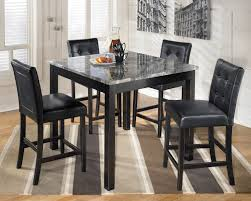 Patio Furniture Counter Height Table Sets - dining room awesome dark costco dining table with height