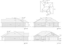 Floor Plan With Roof Plan by Sample New Home Floor Plans Parker Built Homes
