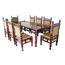 8 chairs sankheda dining set art asia imports u0026 exports