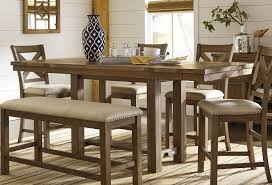 moriville counter height dining room set casual dining sets