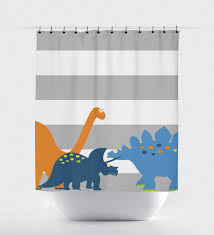 shower curtain dinosaur shower curtain kids shower curtain