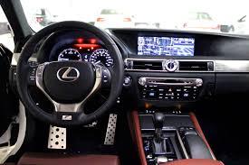lexus gs 450h hybrid occasion 2013 lexus gs 350 f sport cockpit brown black silver grey auto