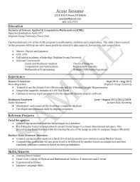 Scholarship Resume Examples by Sample Resumes University Career Services