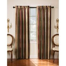 brown small home curtain style that can be applied inside the