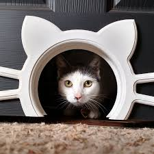designer interior cat or pet door u2013 cool cat door