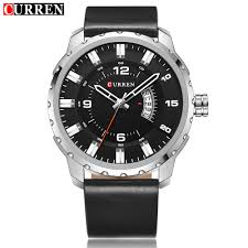 Curren Men     s Stainless Steel Strap Watch      Black Gold Silver     MY Store Update Curren Men    S Military Fashion Analog Date Stainless Steel Band
