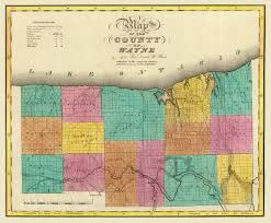 New York County Map by Joseph Smith Home Page Maps