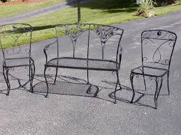 Cast Iron Patio Set Table Chairs Garden Furniture - start order chair options 4 dining arm chairs included 2 dining