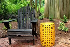 Spray Painting Metal Patio Furniture - home project outdoor patio tables within the grove