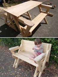 Plans To Build A Picnic Table Bench by Best 25 Folding Picnic Table Ideas Only On Pinterest Outdoor