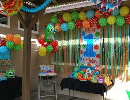 Decoration Themes Best 25 Monster Birthday Parties Ideas On Pinterest Monster