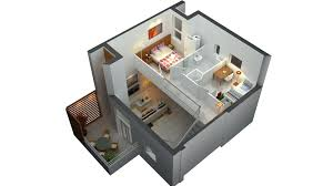 plain 3d 2 story floor plans intended decorating