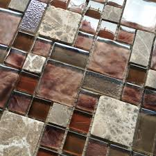 burgundy red glass mosaic wall tile stone mosaic kitchen
