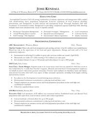 Pastry Chef Resume Examples by Chef Example Resume Virtren Com