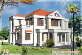 Home Design 3d Play Online 2 Different 3d Home Elevations Kerala House Design Idea