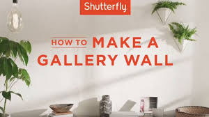 How To Make A Gallery Wall by How To Make A Gallery Wall Youtube