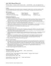 Sample Resume Qualifications List by Cv Samples Qualifications