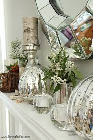 24 gorgeous fall decor ideas from design bloggers setting for four see this design blogger s elegant fall mantel using lots of neutral colors metallics fall