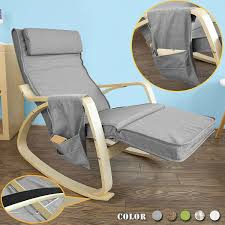 Rocking Chair Recliners Amazon Com Haotian Comfortable Relax Rocking Chair Gliders