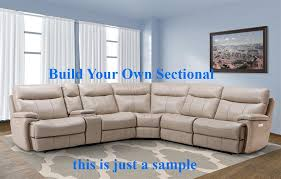 Build Your Own Sectional Sofa by Dylan Build Your Own Creme Reclining Sectional By Parker House