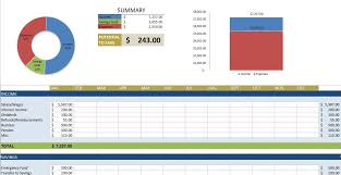 Software For Spreadsheets Free Budget Templates In Excel For Any Use