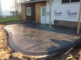 walkway ideas for backyard best 25 stamped concrete walkway ideas on pinterest stamped