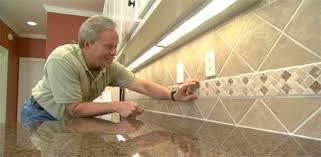 How To Install A Ceramic Tile Backsplash Todays Homeowner - Ceramic tile backsplash