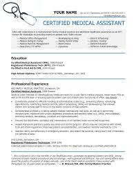 Best Resume Qualifications by Medical Assistant Duties Resume Berathen Com