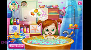 baby shower at pool dressing games dreamworks games