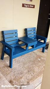 Free Wooden Garden Chair Plans by Best 25 Outdoor Wooden Benches Ideas On Pinterest Wood Bench
