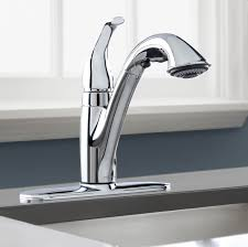 kitchen pull down faucet kitchen faucet with sprayer brushed