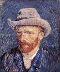 File:Self-portrait with Felt Hat by Vincent <b>van Gogh</b>.jpg <b>...</b>
