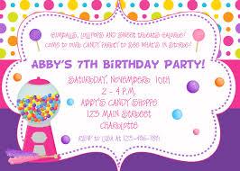 Birthday Invitation Cards Models Birthday Party Invitations Redwolfblog Com