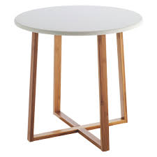 drew bamboo and white lacquer large side table buy now at habitat uk hover to zoom