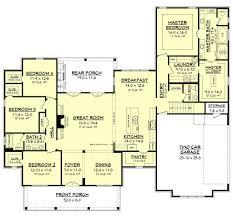 Most Efficient House Plans Farmhouse Style House Plan 4 Beds 2 50 Baths 2686 Sq Ft Plan