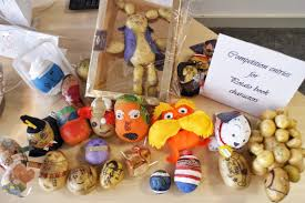 world book day potato characters st margaret ward catholic academy