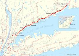 Metro Lines Map by New Haven Line Wikipedia