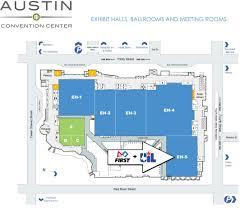 austin convention center map map austin convention center texas