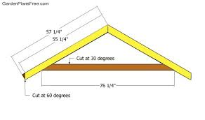 How To Build A Storage Shed Plans Free by Garden Shed Roof Plans Free Garden Plans How To Build Garden