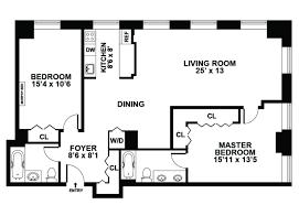 Floor Plan 2 Bedroom Apartment 18 2 Bedroom Apartment Floor Plans Garage Hobbylobbys Info