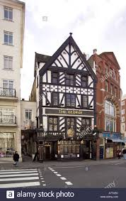 The George Public House On The Strand London England One Of The     Stock Photo   The George public house on The Strand London england one of the oldest pubs in London dating back to