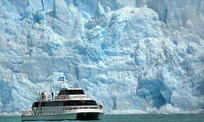 icy blue giants navigation among patagonian glaciers in boat u0027s